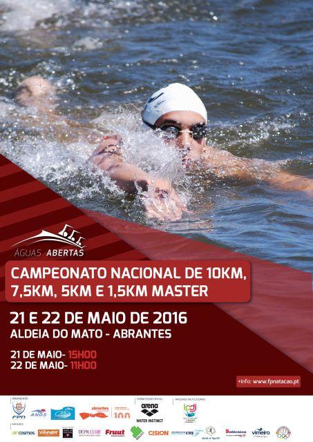 CAMPEONATO NACIONAL DE 10KM, 7,5KM, 5KM E 1,5KM MASTER