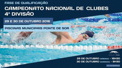 CAMPEONATO NACIONAL DE CLUBES 4ª DIV- FASE QUALIFICAÇÃO