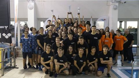 Associação de Natação de Lisboa vence a XXVI Taça Vale do Tejo