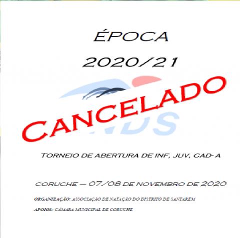TORNEIO DE ABERTURA DE INF, JUV E CAD-A