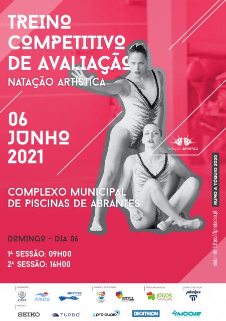 TREINO COMPETITIVO DE AVALIAÇÃO  DE NATAÇÃO ARTÍSTICA