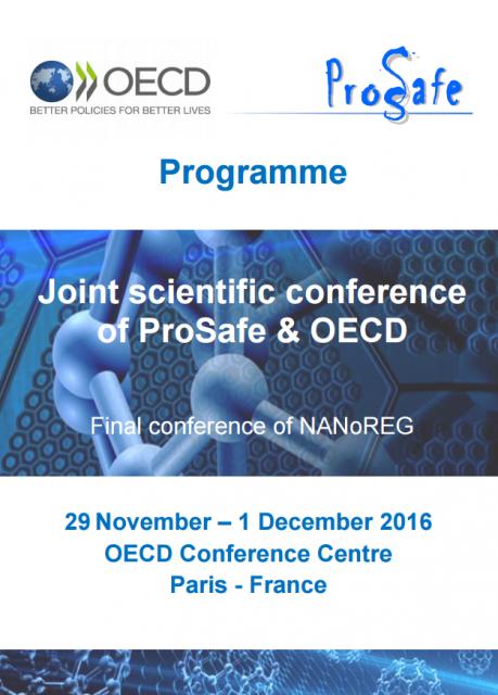 Conferência científica conjunta NANoREG, PROSAFE e OCDE
